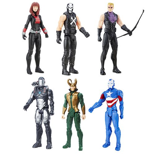 Avengers Titan Hero B 12-Inch Action Figures Wave 5 Case