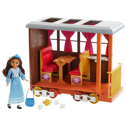 Spirit Untamed Lucky's Train Home Playset