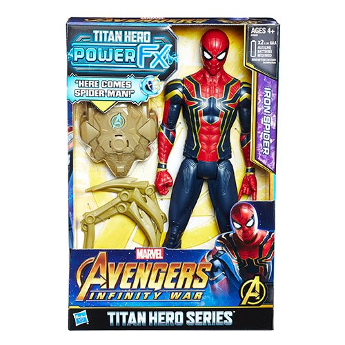 Avengers: Infinity War Titan Hero Power FX Iron Spider 12-Inch Action Figure
