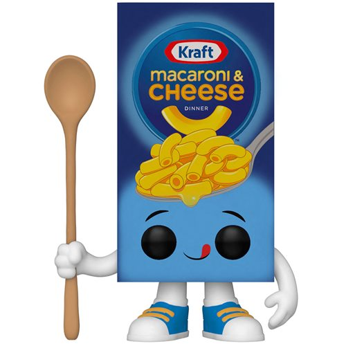 Kraft Mac & Cheese Box Pop! Vinyl Figure