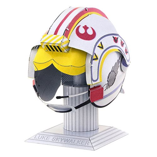 Star Wars Luke Skywalker Helmet Metal Earth Model Kit