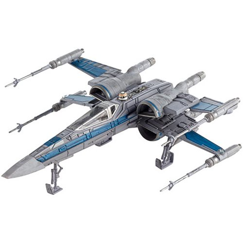 Hot Wheels RESISTANCE X-WING FIGHTER Starships Star Wars Die Cast NEW Last Jedi