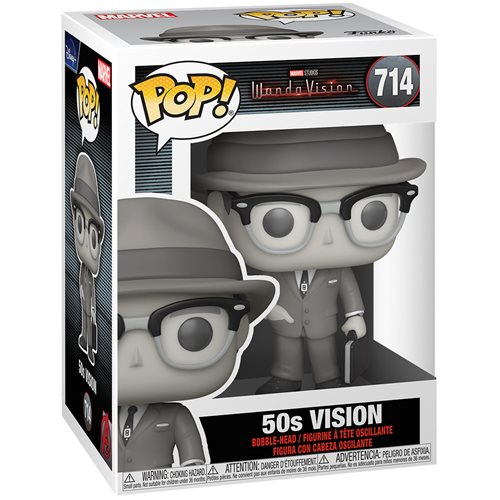 WandaVision 50's Vision Black & White Pop! Vinyl Figure