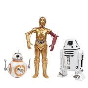Star Wars The Force Awakens 12-Inch Droid Action Figures 3-Pack - Exclusive