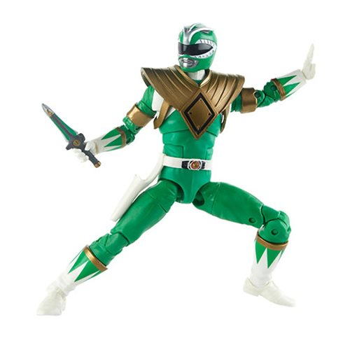 "Putty Patrol 6/"" Fig Standard Power Rangers Lightning Green Ranger vs"