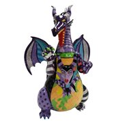 Disney Sleeping Beauty Maleficent Dragon Statue by Romero Britto