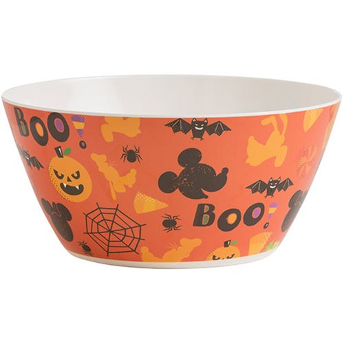 Mickey Mouse and Minnie Halloween 10-Inch Melamine Serving Bowl