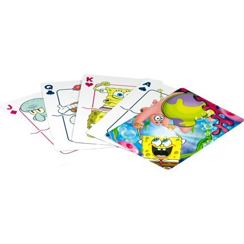 SpongeBob SquarePants Cast Playing Cards