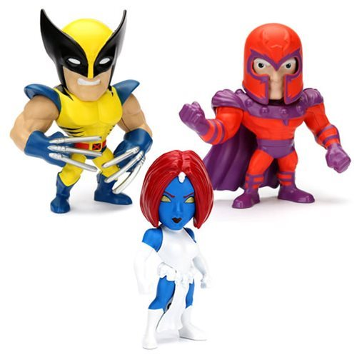 X-Men 4-Inch Metals Die-Cast Action Figures Wave 1 Case