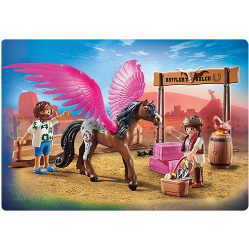 Playmobil 70074 Playmobil The Movie Marla and Del with Flying Horse