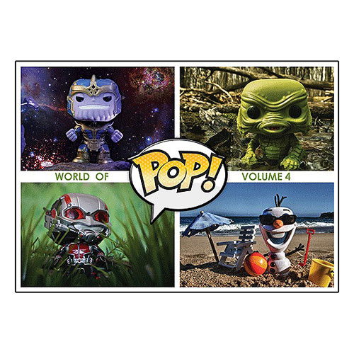 Pop! Vinyl World of Pop! Volume 4 Book
