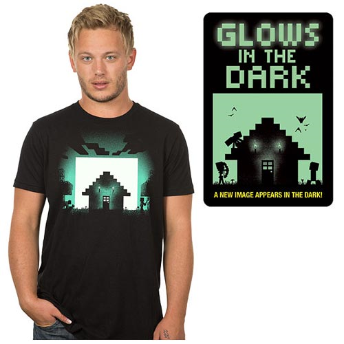 Minecraft Survival Glow in the Dark Premium T-Shirt