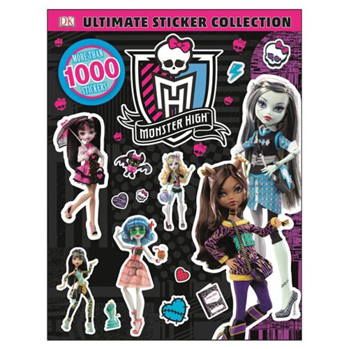 Monster High Ultimate Sticker Collection Book
