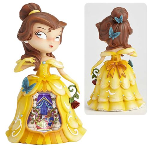 Disney The World of Miss Mindy Beauty and the Beast Belle Statue, Not Mint