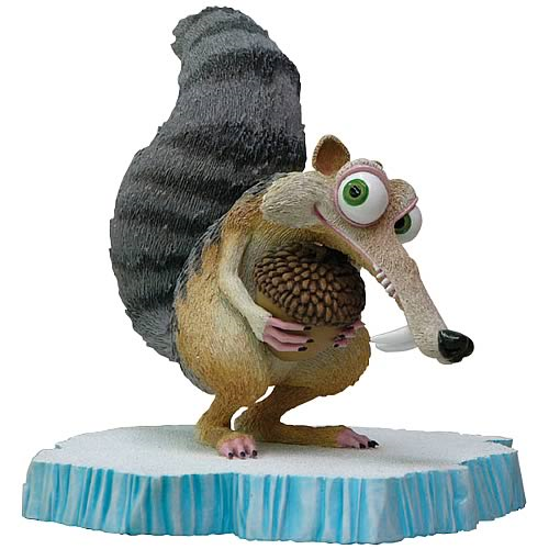 Ice Age Scrat Cold Cast Statue