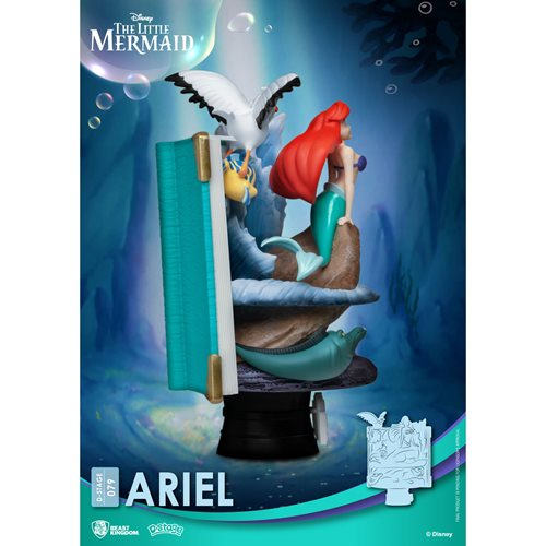 The Little Mermaid Disney Story Book Series Ariel D-Stage DS-079 6-Inch Statue