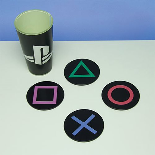PlayStation Metal Coasters 4-Pack