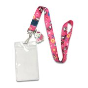 Hello Kitty in the Car Lanyard with Charm