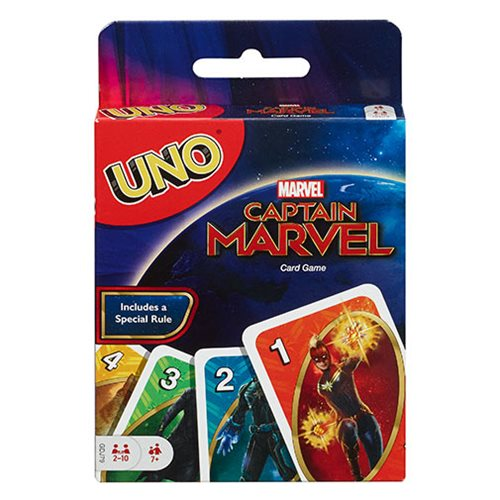 Captain Marvel Uno Game