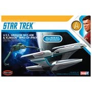 Star Trek U.S.S. Grissom and Klingon Bird of Prey Snap Fit Model Kit 2-Pack