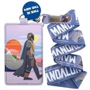 Star Wars: The Mandalorian This is the Way Lanyard with Cardholder
