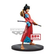 One Piece Monkey D. Luffy The Grandline Men Wanokuni DXF Statue