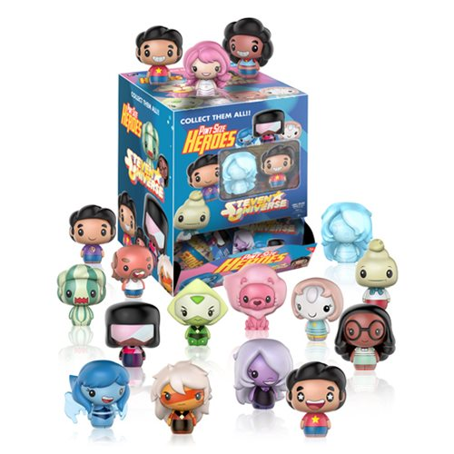 Steven Universe Pint Size Heroes Mini-Figure Display Case