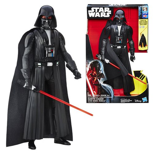 Star Wars Rebels Electronic Duel Darth Vader 12-Inch Action Figure