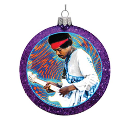 Purple Haze 100mm Glass Disc Ornament