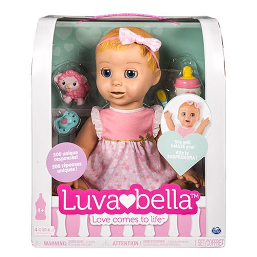 cheap for discount 0a580 f40a7 Luvabella Blonde Hair Girl Baby Doll