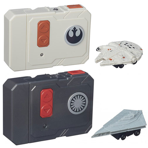 Star Wars The Force Awakens MicroMachines RC Vehicles Wave 1 Set
