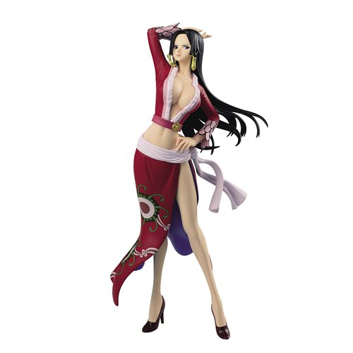 One Piece Boa Hancock Red Version Glitter & Glamours Statue