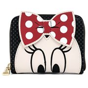 Disney Minnie Mouse Closeup Zip-Around Wallet