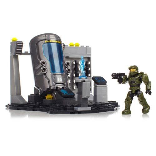 Mega Bloks Halo UNSC Marine Cryo Bay Construction Playset