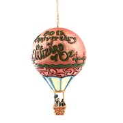 Wizard of Oz 80th Anniversary Balloon by Jim Shore Ornament