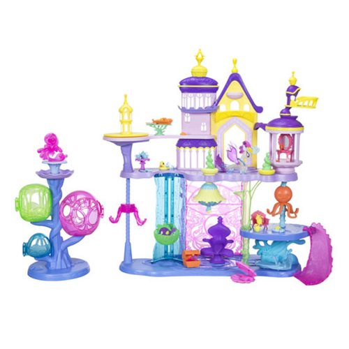 My Little Pony: The Movie Canterlot and Seaquestria Castle with Light-Up Tower Playset