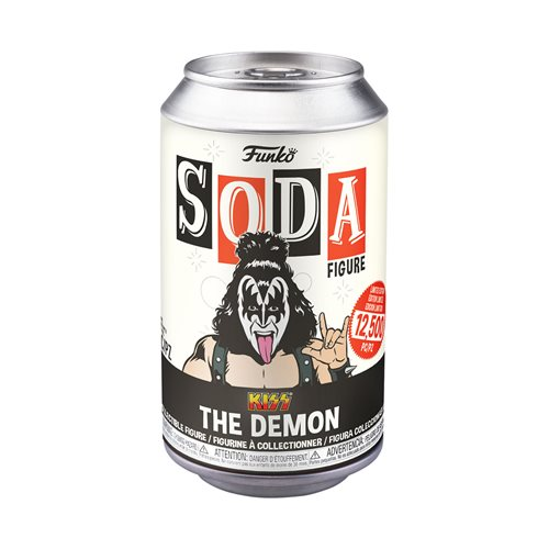 KISS The Demon Soda Vinyl Figure Soda Vinyl Figure