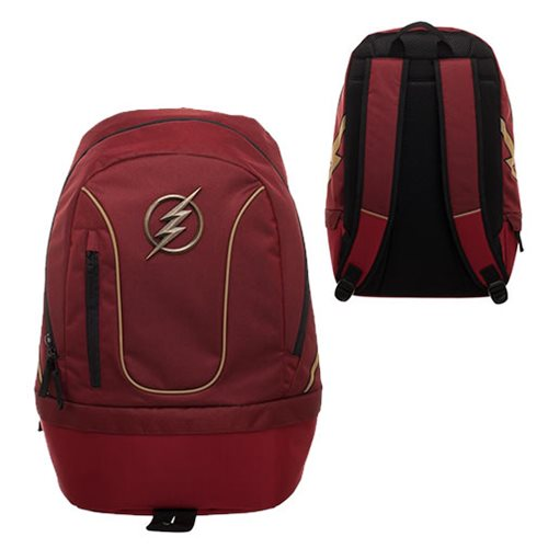 Flash Bottom Zip Built Backpack