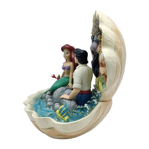 Disney Traditions Little Mermaid Seashell Scenario by Jim Shore Statue