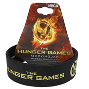 Hunger Games Movie Mockingjay Rubber Bracelet