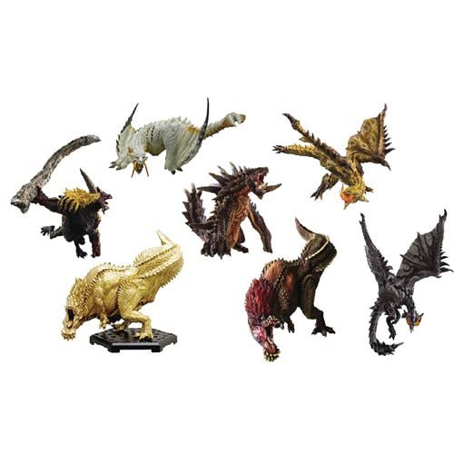Monster Hunter CFB Anger Collection Mini-Figures Case