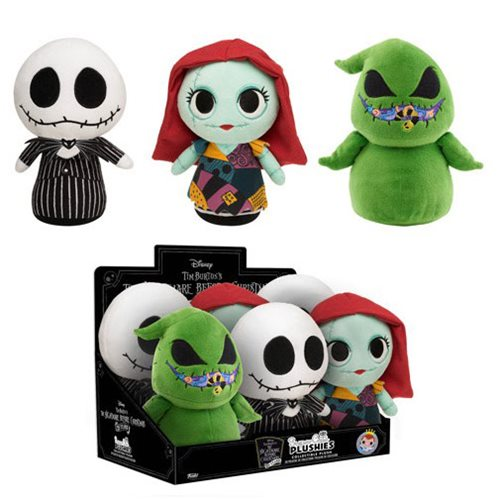 Nightmare Before Christmas Supercute Plush Display Case