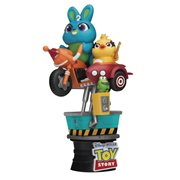 Toy Story 4 Bunny and Ducky Coin Ride DS-062 D-Stage 6-Inch Statue