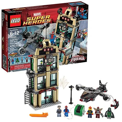 LEGO Marvel 76005 Spider-Man Daily Bugle Showdown