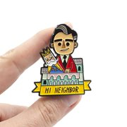 Mister Rogers Neighnorhood Hi Neighbor Pin