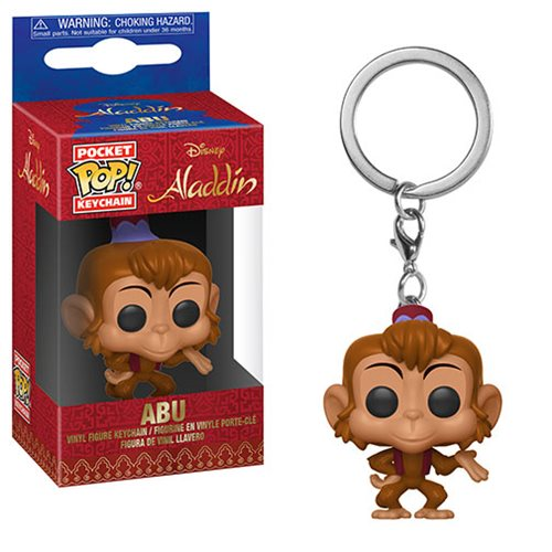 Aladdin Abu Pocket Pop! Key Chain