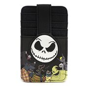 Nightmare Before Christmas Jack Skellington Cardholder Wallet