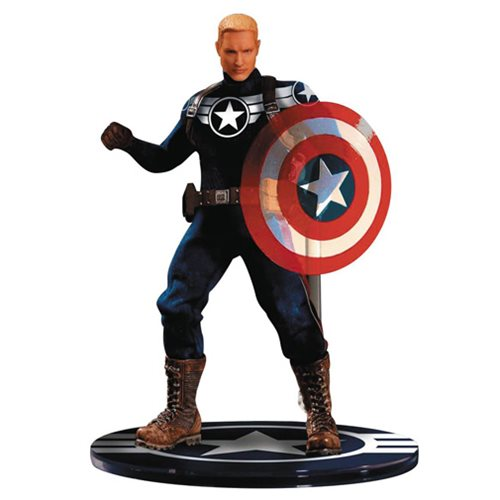 Captain America Commander Rogers One:12 Collective Action Figure - Previews Exclusive