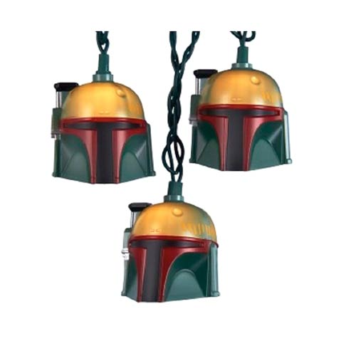Star Wars Boba Fett Helmet Light Set