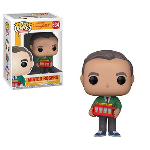Mr. Rogers Neighborhood Mr. Rogers Pop! Vinyl Figure